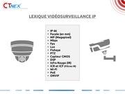 lexique videosurveillance