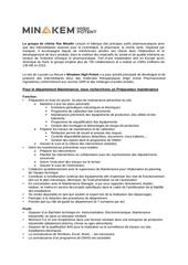 minakem maintenance preparateur maintenance q42016