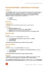 specs formats web mobile 13012015