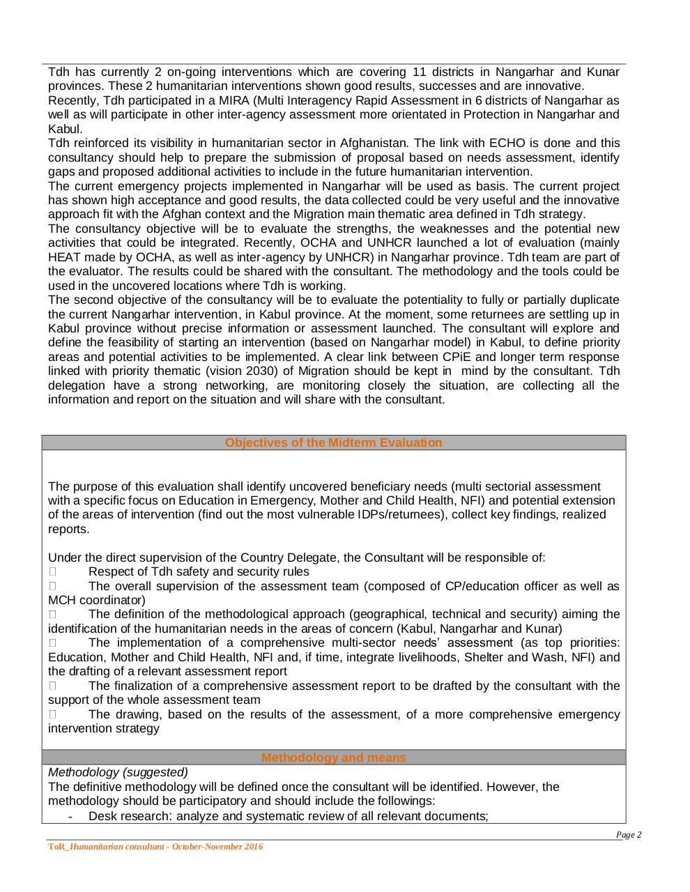 Aperçu du document ToR_Humanitarian Consultant 21 days.Afgha.pdf - page 2/3
