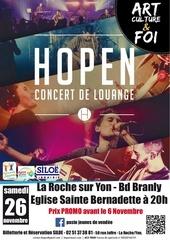 concert hopen 2016 affiche