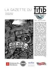 gazette du fifib x bda 1