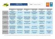 planning d activites elementaire vacances toussaint 2016