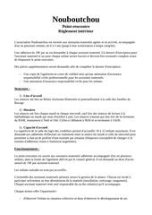 reglement interieur nouboutchou 1