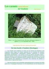 vendoire bois fossiles d raymond 2016