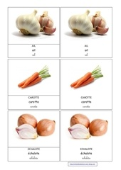 ail carotte echalote