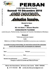 Fichier PDF flyer choucroute