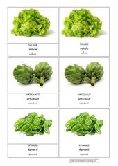 salade artichaud epinard