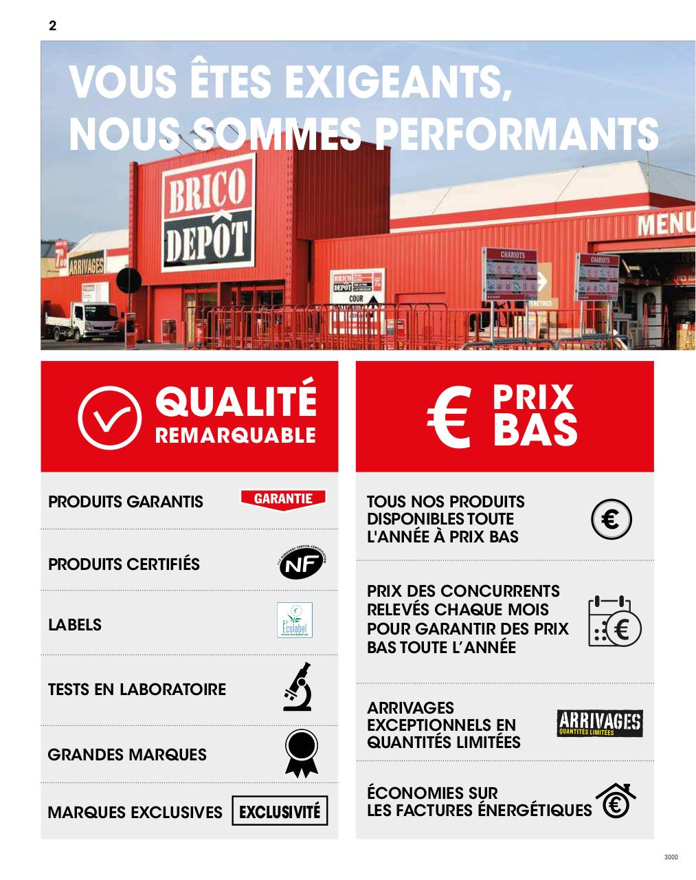 Gabarit Book Par Pincemin Catalogue Brico Depot Officiel