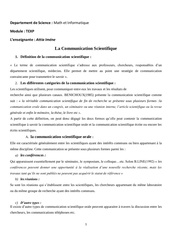 Fichier PDF communication moderne