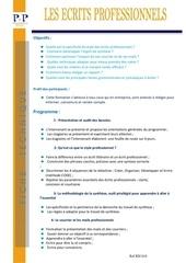 Fichier PDF 03 les ecrits professionnels