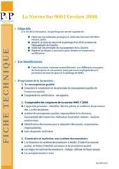 Fichier PDF 19 la norme iso 9001 2008