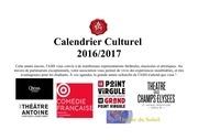 Fichier PDF calendrier culturel public