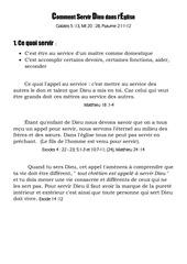 Fichier PDF comment servir dieu dans l eglise