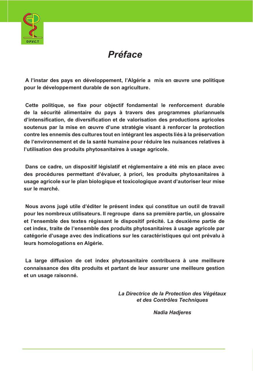 PHYTOSANITAIRE 2013 INDEX GRATUIT TÉLÉCHARGER