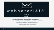 proposition relations presse 2 0 1