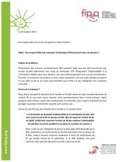 Fichier PDF lettre formulaire pcr