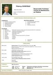 Fichier PDF cv 1 thierry