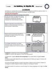 bobine et dipole rl