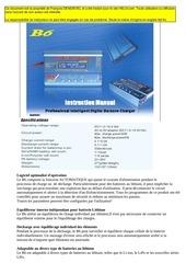 imax b6 manual francais