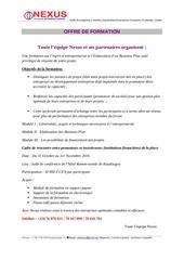 Fichier PDF nexus consult international