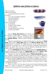 Fichier PDF sheres aux fruits et epices