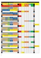 calendrier oct nov dec 2016