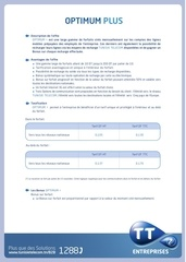 fiche web optimum plus