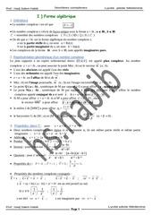 Fichier PDF resume 1 complexe bac sc exp