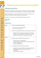 12 redaction des contrats marches publics