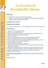 Fichier PDF 22 gestion de portefeuille clients