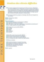 Fichier PDF 33 gestion des clients difficiles
