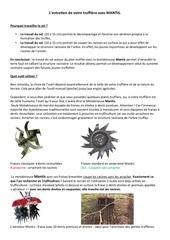 entretien de votre truffiere avec mantis