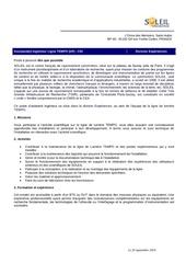Fichier PDF offre d emploi
