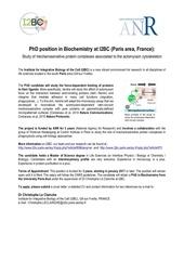 phd position le clainche i2bc