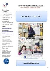 bilan d activite 2015
