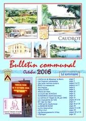 caudrot bulletin communal octobre 2016 diffusion generale