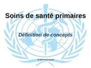 j2 soins de sante primaires by bennani