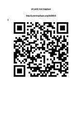 Fichier PDF un petit mot magique