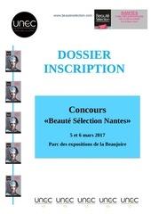 Fichier PDF concours beaute selection 2017
