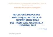 forum ing algeriens