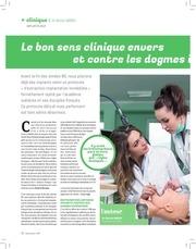 le bon sens clinique dr michel abbou 168 dentoscope 2016