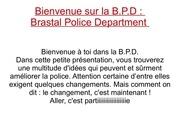 police b d p 1