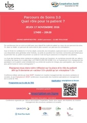 save the date parcours de soins 3 0