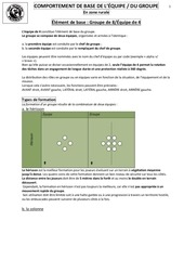 comportement groupe 1