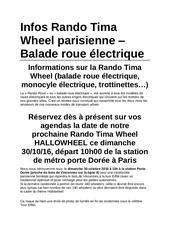 Fichier PDF infos rando tima wheel parisienne