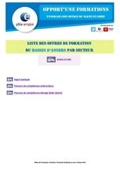 Fichier PDF liste formations dt49 angers secteur agriculture
