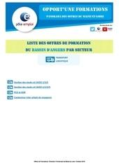 Fichier PDF liste formations dt49 angers secteur logistique