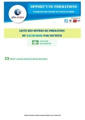 Fichier PDF liste formations dt49 saumur secteur hotel restau