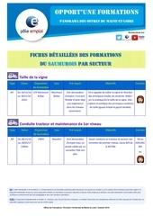 of dt49 saumur beaufort fiche detaillee secteur agri
